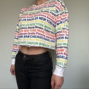 F21 forever 21 cropped top